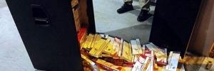 GP Klobuk: U zvučnicima pokušao prenijeti 5.000 kutija cigareta