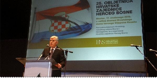 Čović o hrvatstvu, jedinstvu, Herceg-Bosni...