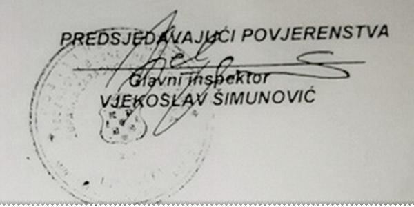 Kriminal u MUP-u ZHŽ: Krivotvoreni potpis i nezakonita promaknuća (dokumentacija)