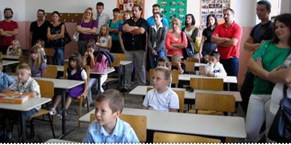 u razredu
