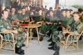 Ljubuški 92,; ljubuški bojovnici, instruktori i časnici neposredno prije odlaska na ratište.
